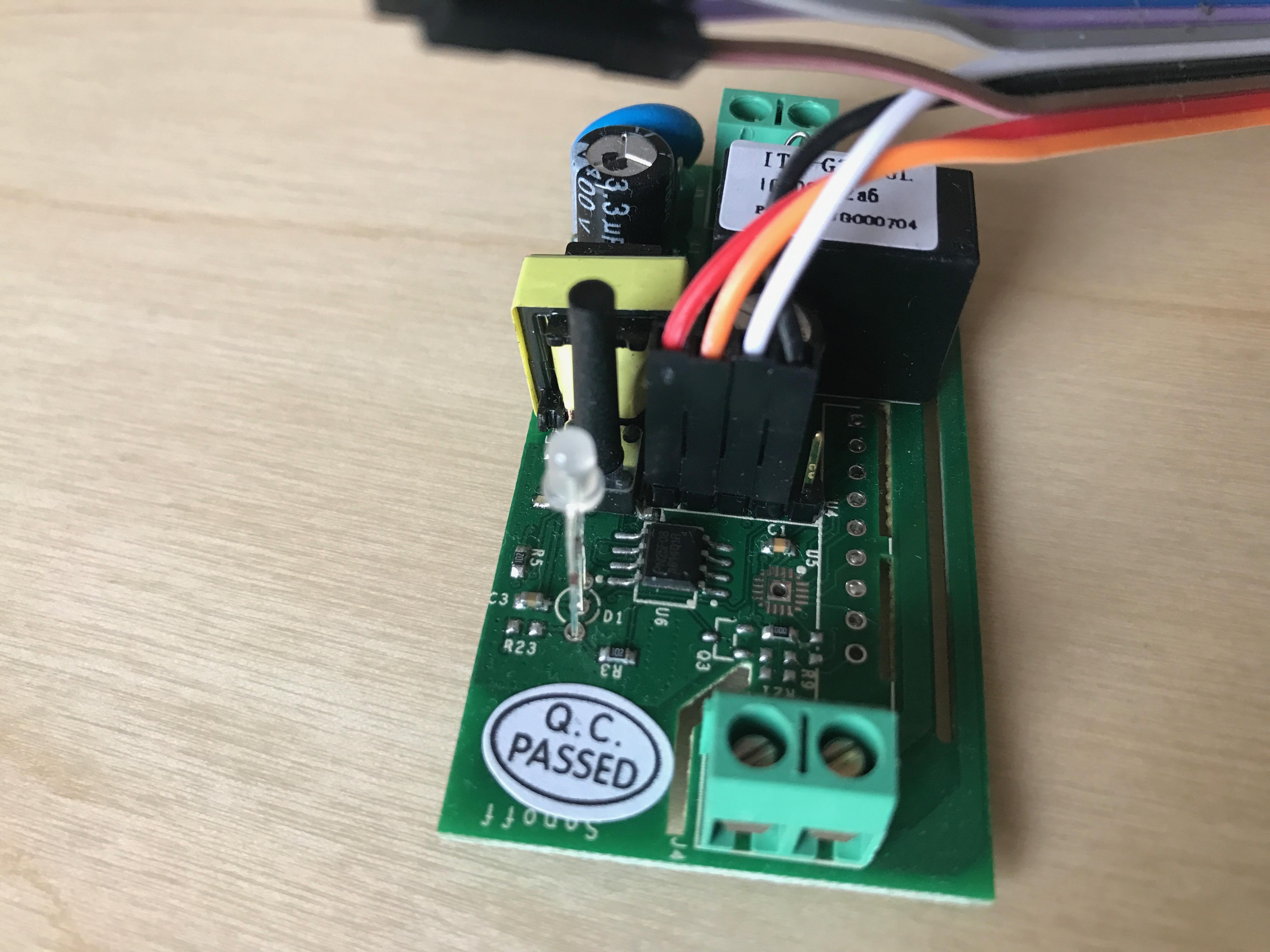 Sonoff WiFi Switch – Custom firmware – esp8266 MQTT micro python
